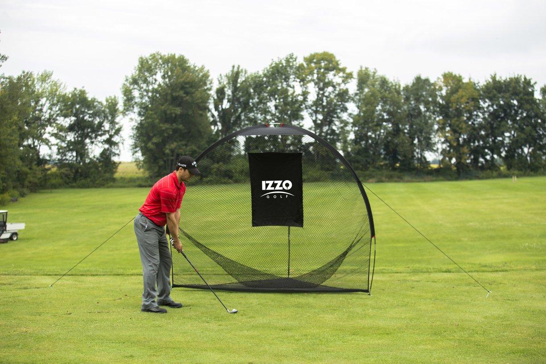amazon com izzo golf tri daddy hitting net sports u0026 outdoors