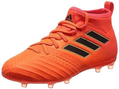 separation shoes 540e8 68a6a adidas Jungen Ace 17.1 Fg J Fußballschuhe, Mehrfarbig core Black solar Red,  32