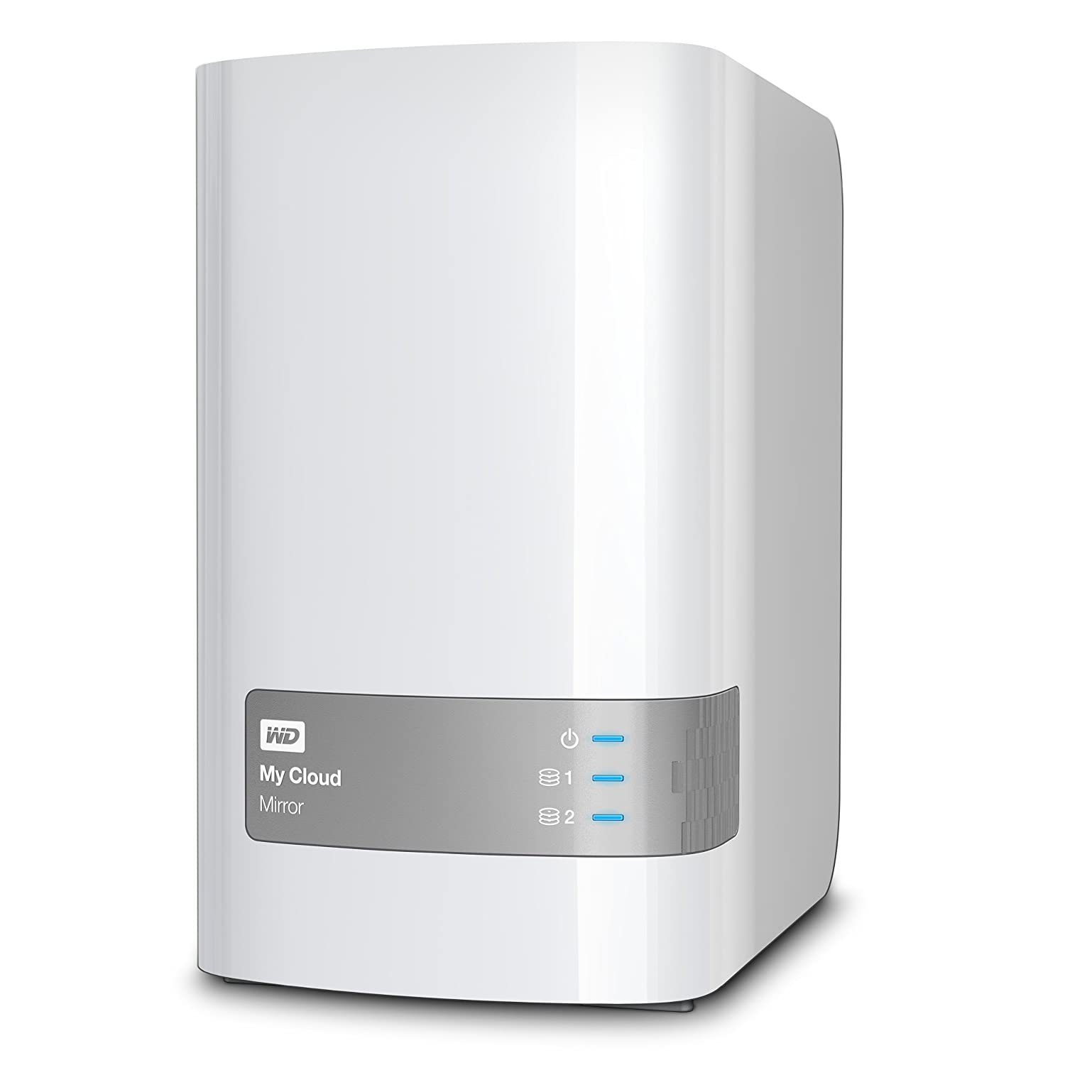 WD 12TB My Cloud Mirror Personal Network Attached Storage - NAS -  WDBZVM0120JWT-NESN