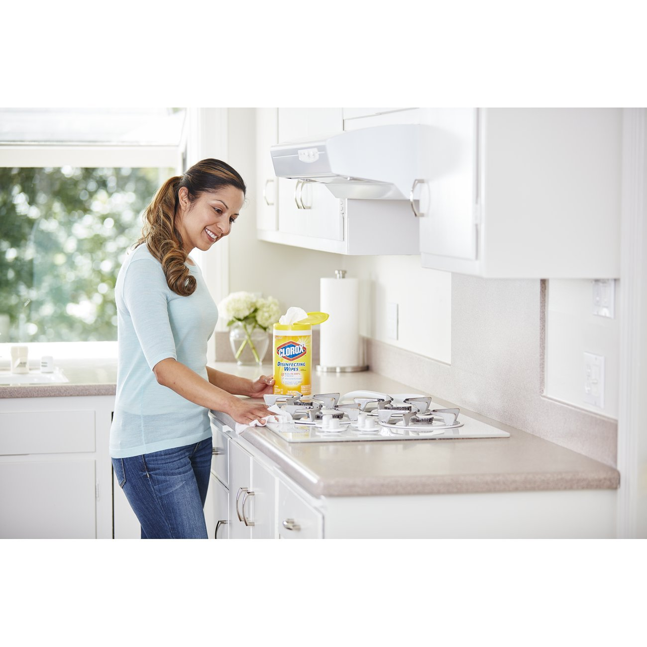 Amazon.com: Clorox Disinfecting Wipes, Citrus Blend, 75 Wet Wipes ...