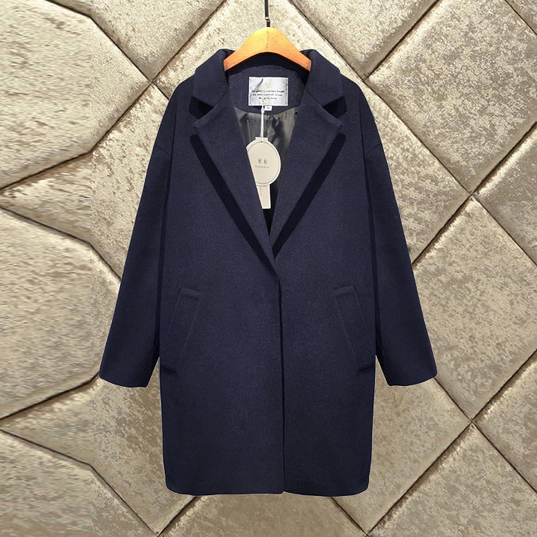 ... JNagriculture 2017 Cardigan Winter Coat Women Trench Casual Preppy Style Woman Woolen Coat Female Jacket Outwear Casaco Feminino Abrigo Mujer: Clothing