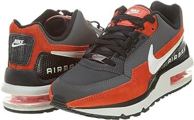 Nike Air MAX LTD - Zapatillas de Running para Hombre Gris Gris/Naranja: Amazon.es: Zapatos y complementos