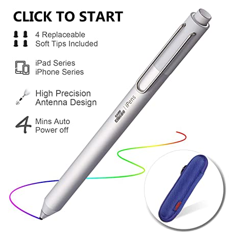 buy online 809c6 3e0cd Amazon.com: Stylus Pen for Apple iPad, KSW KINGDO iPens Capacitive ...
