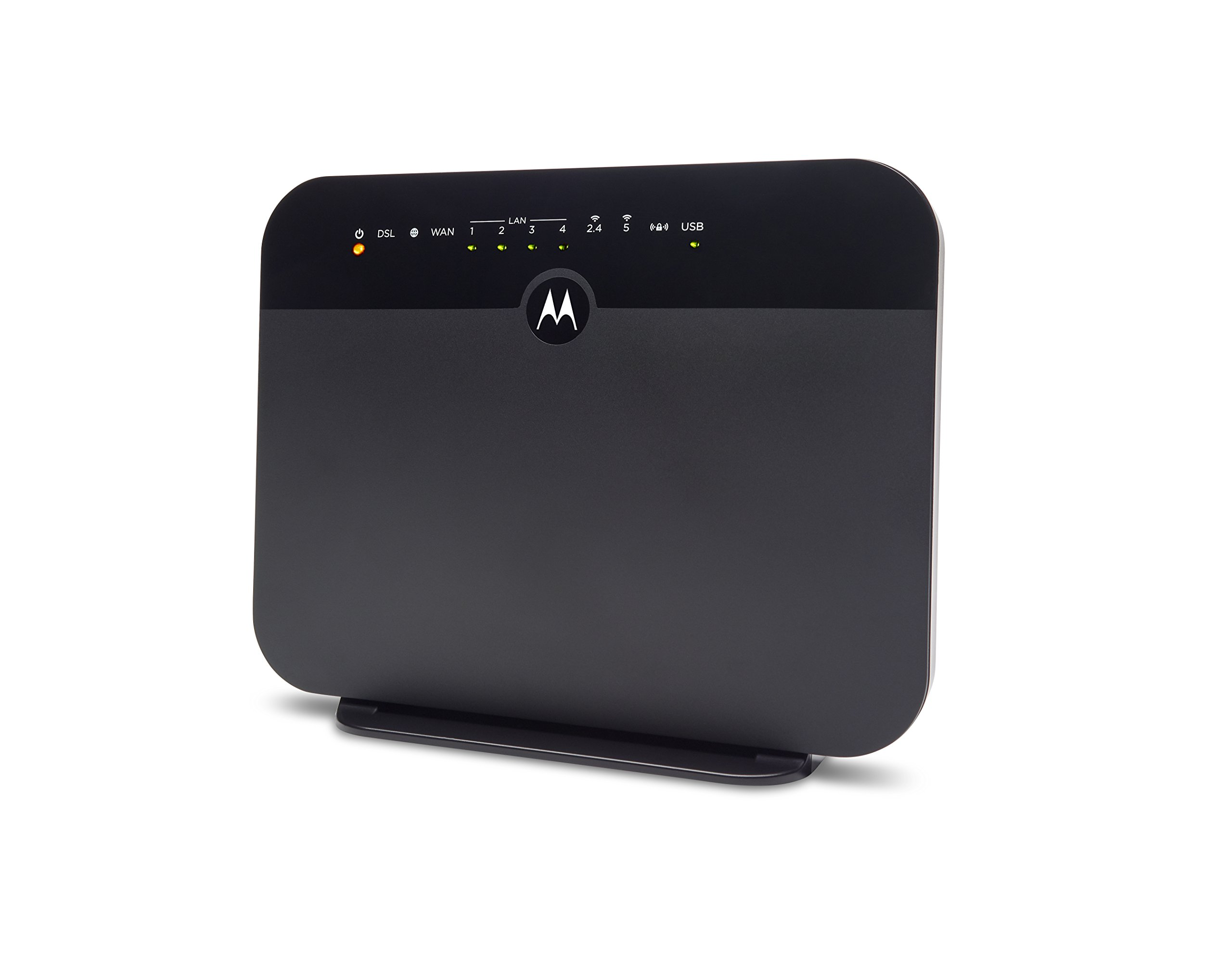 MOTOROLA VDSL2/ADSL2+ Modem + WiFi AC1600 Gigabit Router, Model MD1600, for Non-Bonded, Non-Vectoring DSL from CenturyLink, Frontier, and Some Other DSL Providers 1 IMPORTANT: MODEL MD1600 DOES NOT WORK WITH BONDED VDSL, BONDED ADSL, OR VDSL VECTORING. PLEASE READ THE CHECKLIST in the product images on this page before purchasing this product. If you're still not sure whether you have the right type of DSL service, BE SURE TO ASK YOUR SERVICE PROVIDER BEFORE purchasing this product. MODEL MD1600 IS NEVER COMPATIBLE WITH VERIZON OR AT&T SERVICES. The MD1600 IS NEVER compatible with Comcast, Charter Spectrum, Cox, or other cable services The MD1600 is a great choice for most ADSL and VDSL services from CenturyLink, Frontier, Windstream, TDS Telecom, and Fairpoint. .It combines a VDSL2/ADSL2+ modem with a full-featured AC1600 WiFi Gigabit router to provide fast Internet to all your WiFi and Ethernet devices. DSL services use the telephone wiring in your home. Supplying your own modem typically saves $9.99 in modem rental fees for CenturyLink, and savings vary for other service providers. Built-in router includes four Gigabit Ethernet ports, AC1600 wireless, a firewall, WPA/WPA2 wireless security, IPv4 and IPv6 support, and Virtual Private Network (VPN) capability. You can plug a USB storage device into the MD1600's USB 2.0 host port for Network Attached Storage (NAS) which supports DLNA Media Sharing.