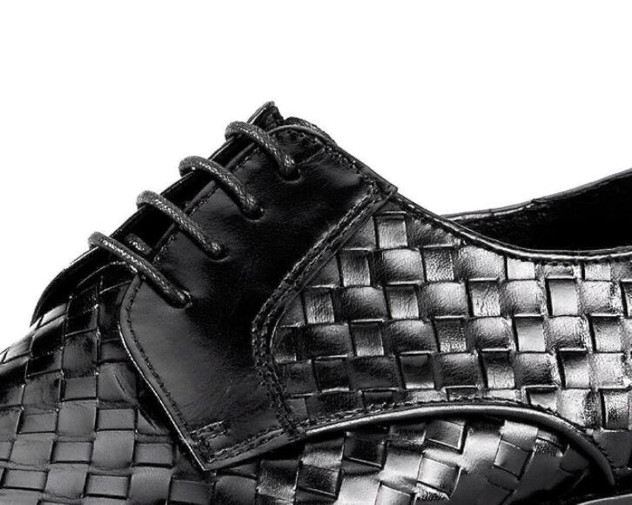 DHFUD British Geflochtene Schuhe British DHFUD Herren Geschäft-Anzüge Atmungsaktive Leder Herrenschuhe a7d8e4