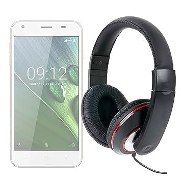 DURAGADGET Auriculares De Diadema para Smartphone Acer Iconia Talk ...