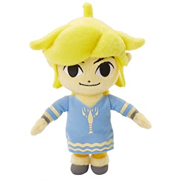 NINTENDO - Peluche Zelda Link Windwalker 15cm