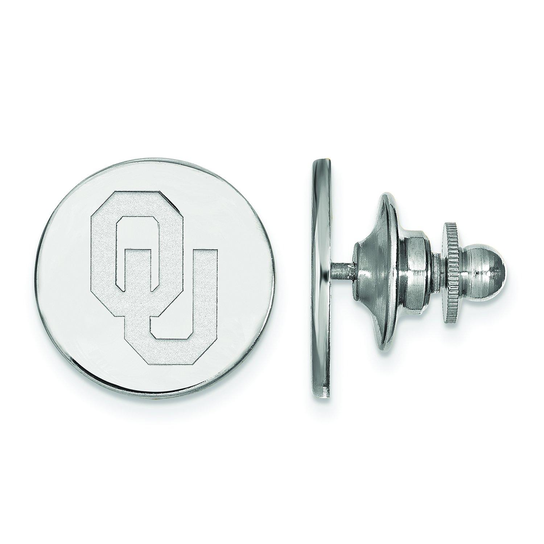 LogoArt Sterling Silver Oklahoma Tie Tac