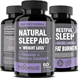 Natural Sleep Aid For Adults Helps Insomnia Relief As Sleeping Pills Extra Strength Made With Melatonin, Valerian Root…