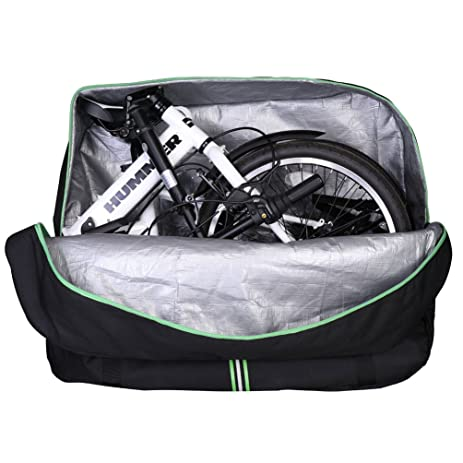 Rockbros Waterproof Folding Bike Carry Bag Large Capacity Cycling Travel Pouch For Bicycles 16