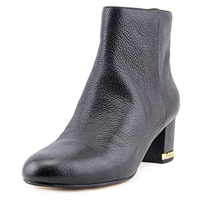 64d6c71ab48bf Michael Michael Kors Womens Sabrina Mid Bootie Leather Closed