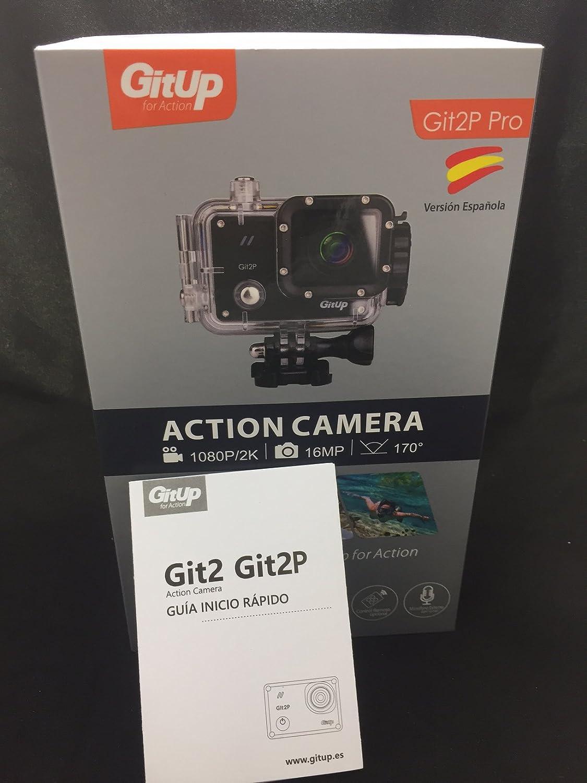 Camara GITUP GIT2P PRO EDITION VERSIÓN ESPAÑOLA Sensor Panasonic MN34120PA.Manual instrucciones español