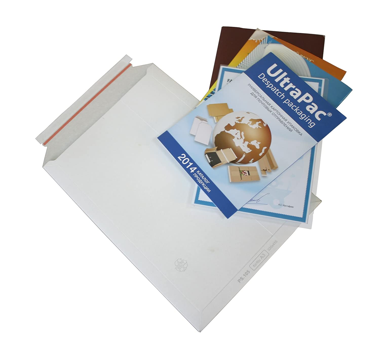 100 Enveloppes en carton blanc dIN allpac carton b4 analogique vers tOPPaC /® tP235 gr.250 x aP235 mm article 353
