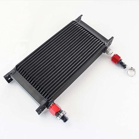 csks Universal 19 fila AN10 Motor para aceite de transmisión w/Kit de accesorios negro