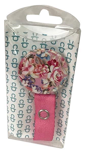 Amazon.com: classypaci Pretty Flores Clip para chupete: Baby