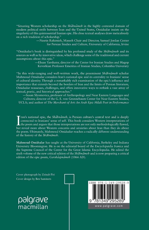 Poetics and Politics of Iran's National Epic, the Shāhnāmeh