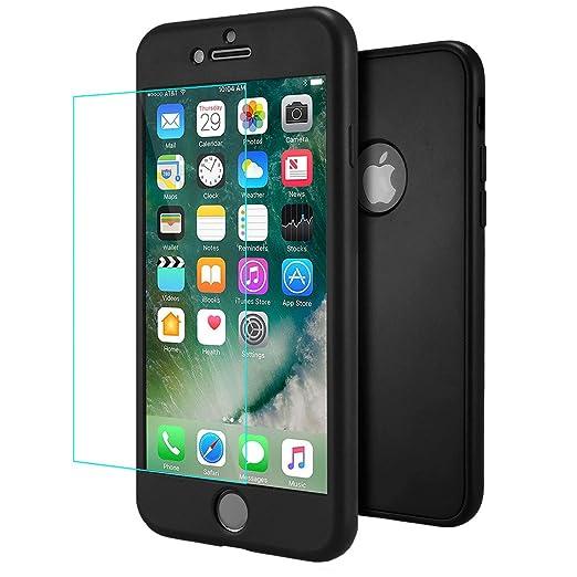 3 opinioni per Cover iPhone 7 Plus Nero , ivencase Custodia iPhone 7 Plus Ultra Sottile 3 in 1