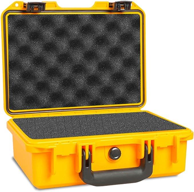 Waterproof IP67 Large Hard Plastic Protective Grip Carry TOUGH Phone Case Foam