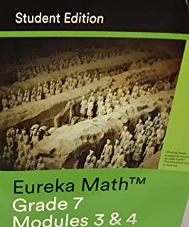 Amazon com: Eureka Math, A Story of Ratios: Grade 7, Module