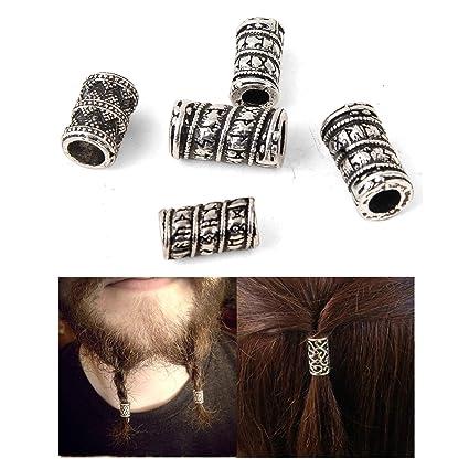 Runic Beard Beads Runic Hair Beads