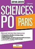 Sciences Po Paris Concours 2018-2019 - Réussir toutes les épreuves