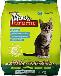 Cat & Pet Litter Maxs Coprice 4kg Prevents Bacteria Growth Eliminates Odour