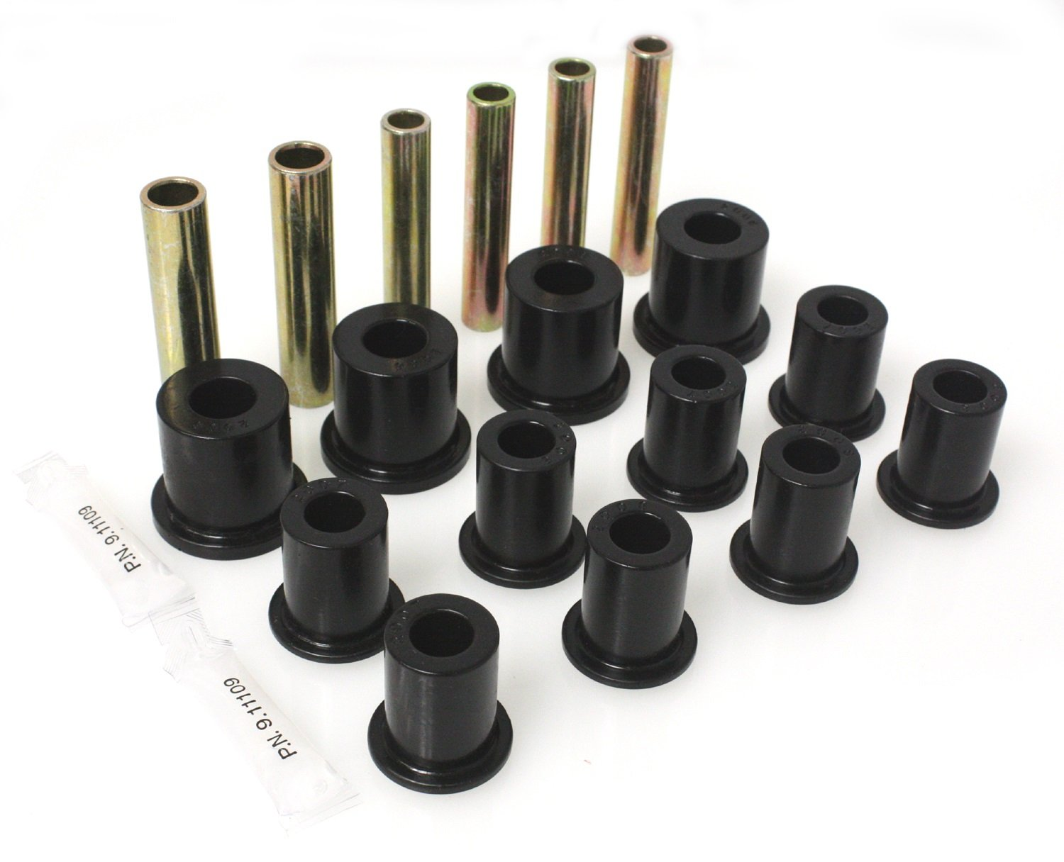 Energy  Suspension 3.2105G   3-2105G Black Front Spring Bushing Energy Suspension