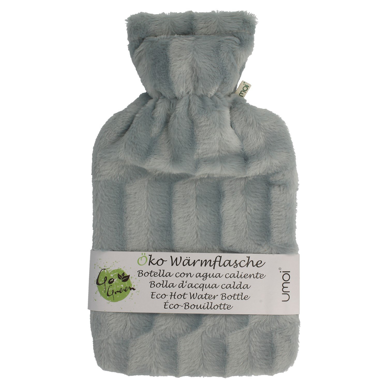 umoi con Certificación Agua Caliente 2Litros Con Funda De Tejido Polar Fur bs1970: 2012.