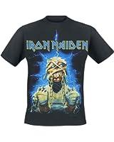 Iron Maiden Powerslave Mummy T-Shirt schwarz