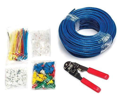 14 opinioni per MutecPower 75M CAT5e solido UTP Cavo di rete Ethernet- BLU- Con pinza