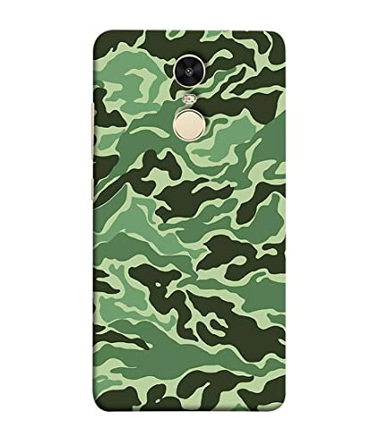 online retailer ad88b e607a Redmi Note 4 Back Cover Camouflage Army Pattern Design: Amazon.in ...