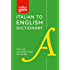 Collins Italian to English (One Way) Dictionary Gem Edition: A portable, up-to-date Italian dictionary (Collins Gem) (Italian Edition)