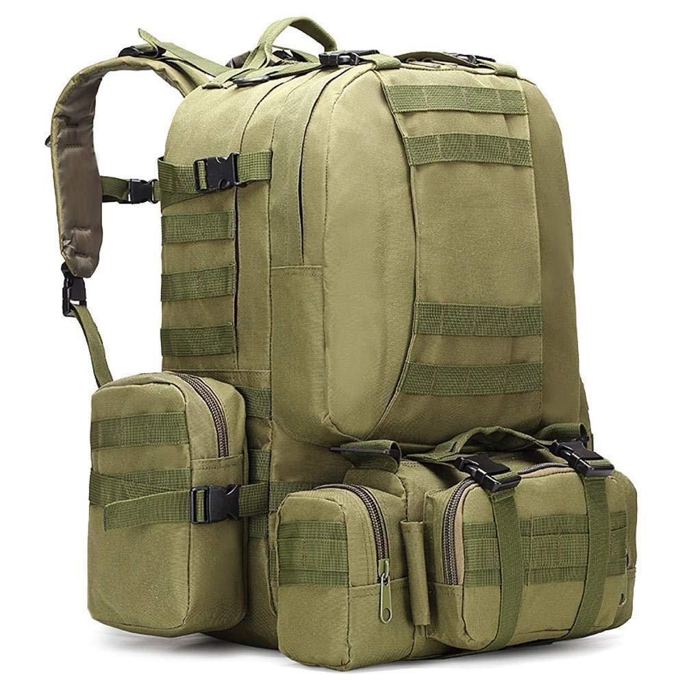 Style B  RUIMA Sac de Camping pour Hommes Oxford Sac à Dos de plein air armée Camouflage Sac de randonnée Alpinisme Sac à Dos Combinaison Tactique (Couleur   Style F)