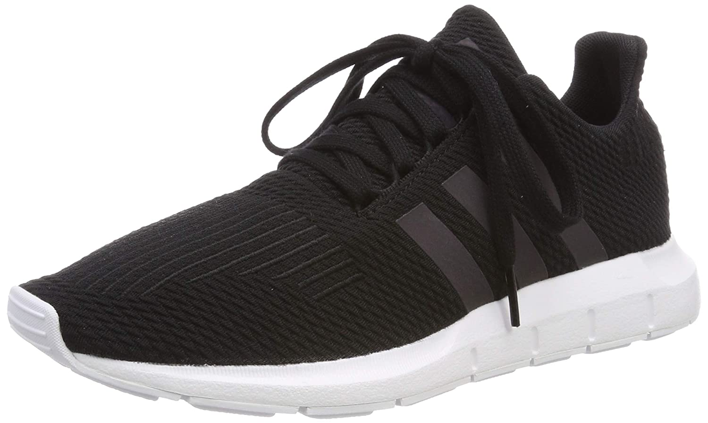 Mehrfarbig (Negbás Weiß  Ftwbla 000) adidas Unisex-Erwachsene Swift Run J Fitnessschuhe, Schwarz 36 EU