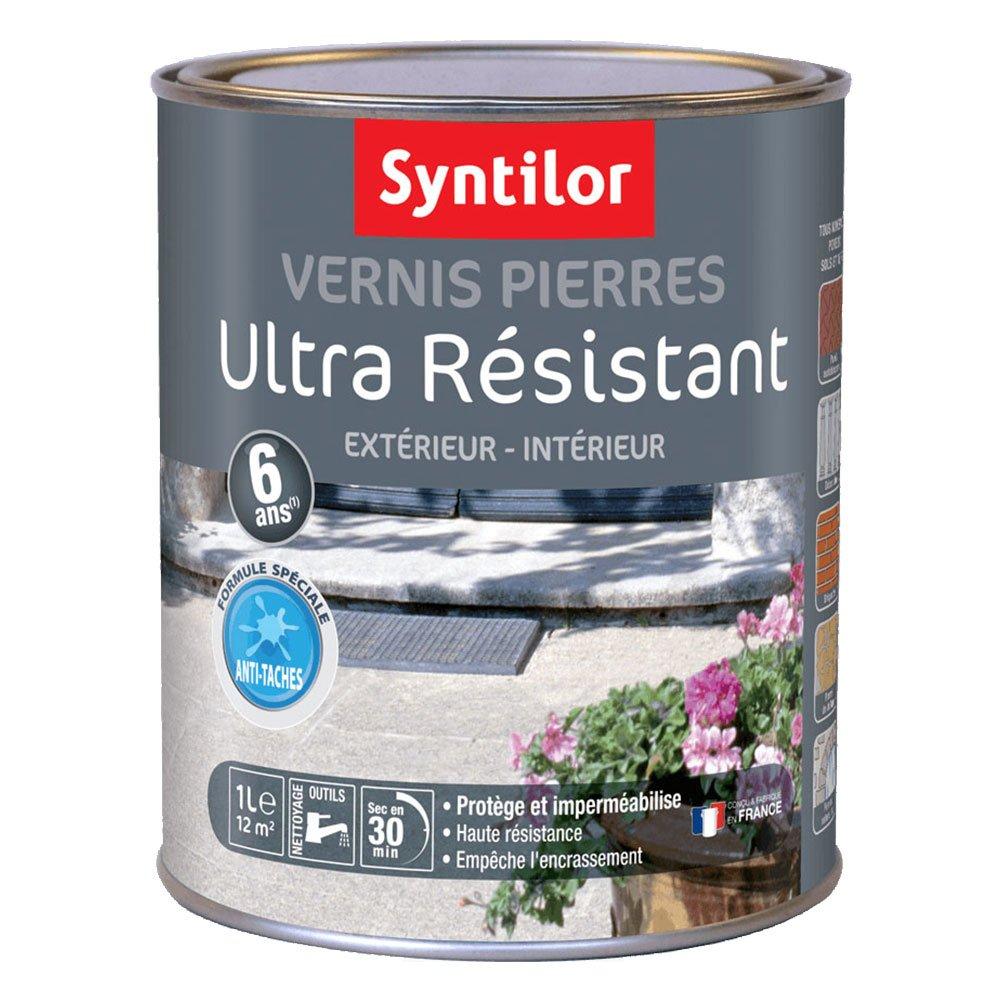 Syntilor - Vernis Pierres Ultra Ré sistant 6 Ans Incolore Mat 0, 5L 01531090