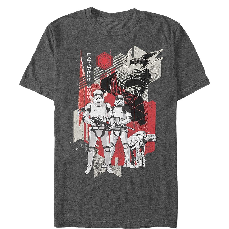 Star Wars The Last Jedi Mens Darkness Rises T-Shirt