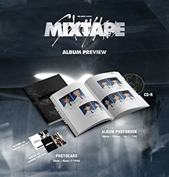 STRAY KIDS - Mixtape (Debut Album) CD+Official Folded Poster+Extra Photocard