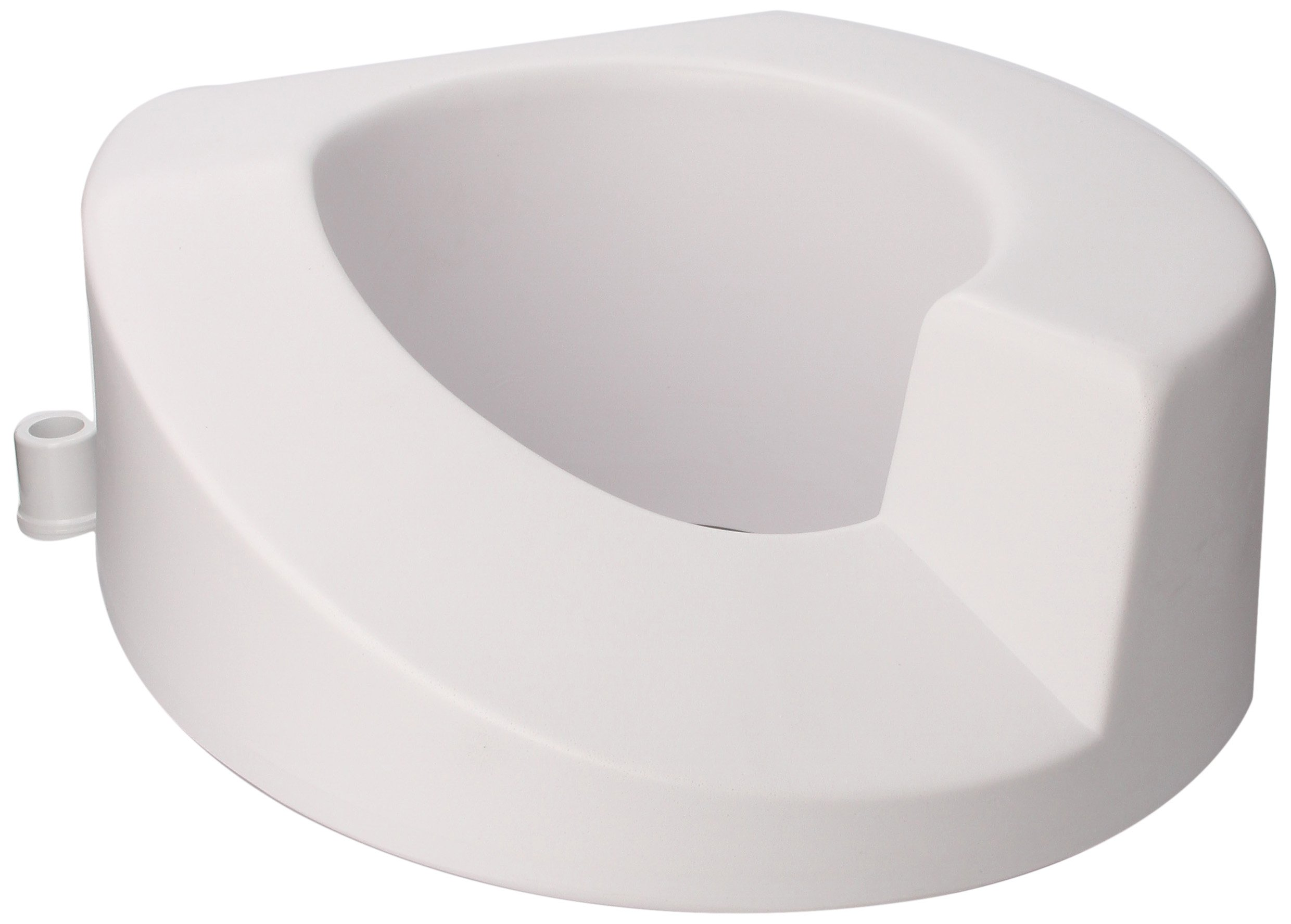 Ableware 725921001 Right Elongated Elevated Toilet Seat