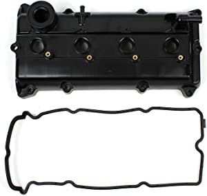 BOXI Engine Valve Cover Kit With Gasket & Spark Plug Tube Seals For 2002-2006 Nissan Altima w/2.5L / 2002-2006 Nissan Sentra w/2.5L (Replaces Nissan 13264-3Z001, 132643Z001)
