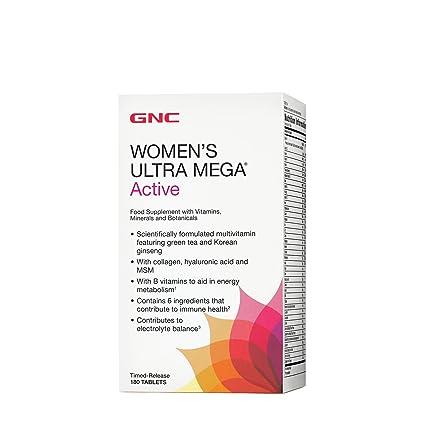 Gnc Ultra mega para mujer activa