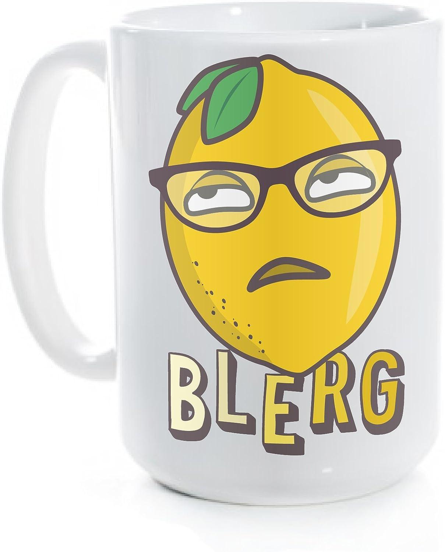 Liz Lemon Blerg 30 Rock Coffee Mug (15 fl oz)