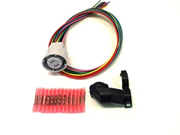 le external wiring harness le image wiring amazon com 4l80e external wire harness 1994 and up gm automotive on 4l80e external wiring harness