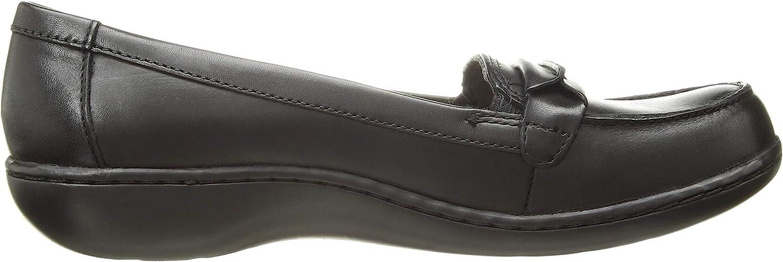 Clarks Ashland Lily, Zapatillas Deportivas. para Mujer Cuero Negro 37ukQ