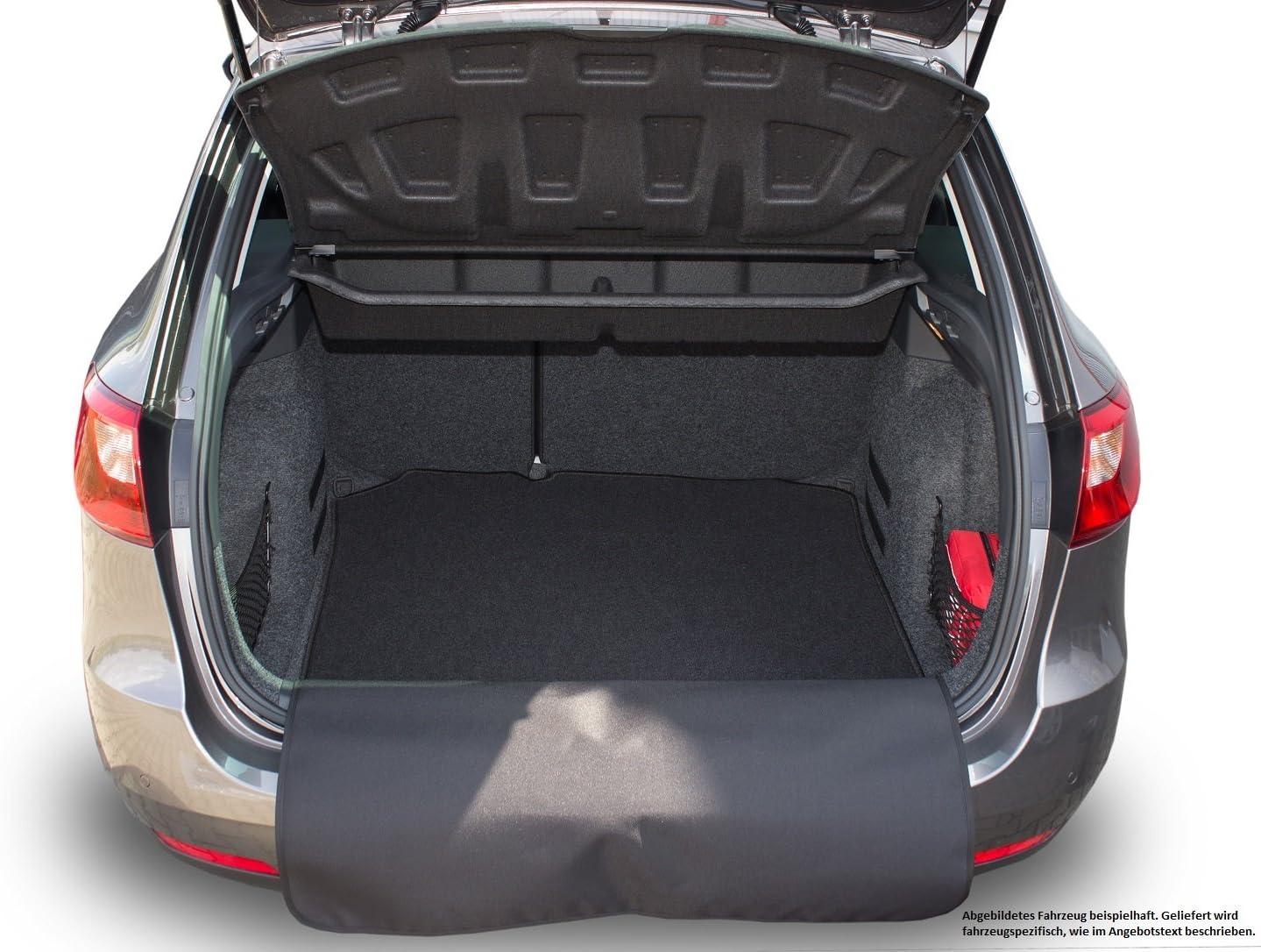 Kofferraummatte mit abnehmbarem Sto/ßstangenschutz fahrzeugspezifisch AZUGA AZ16000012