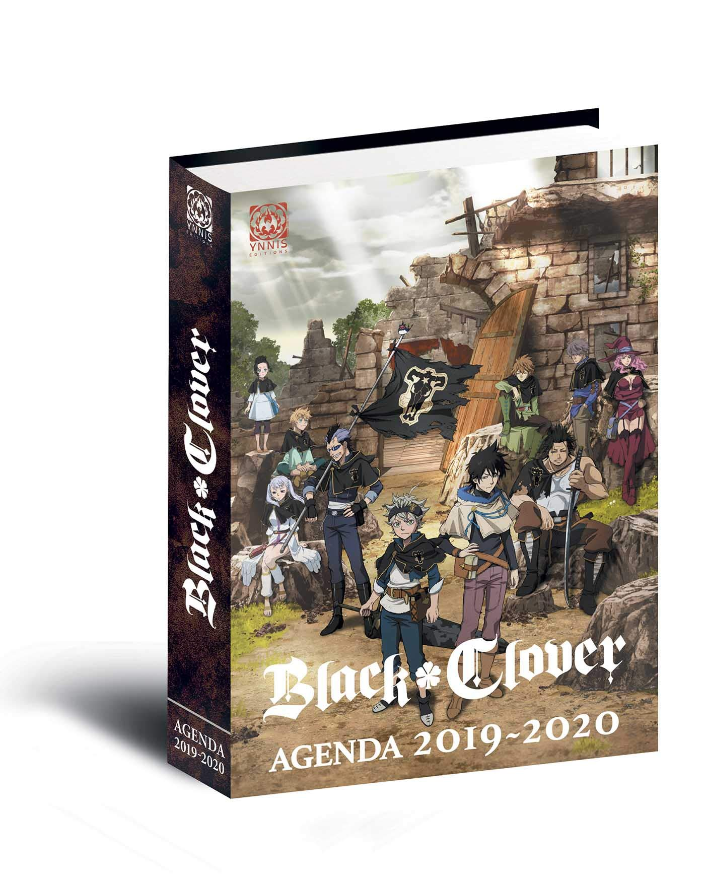 Amazon.com: Agenda Black Clover 2019-2020 (9782376970675): Books