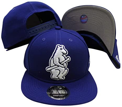 83c0e30820d Image Unavailable. Image not available for. Color  Chicago Cubs Navy 1914  Logo Grand 9FIFTY Adjustable Snapback Hat   Cap