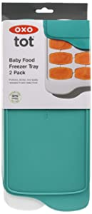 OXO Baby Food Freezer Tray - 2 Pack Updated Teal
