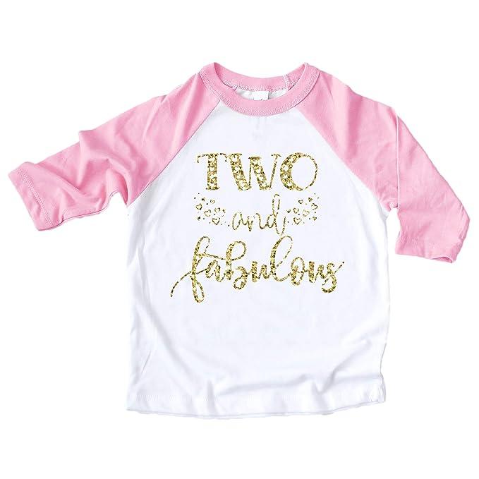 Amazon.com: Dos y fabuloso camisa purpurina oro dos y ...