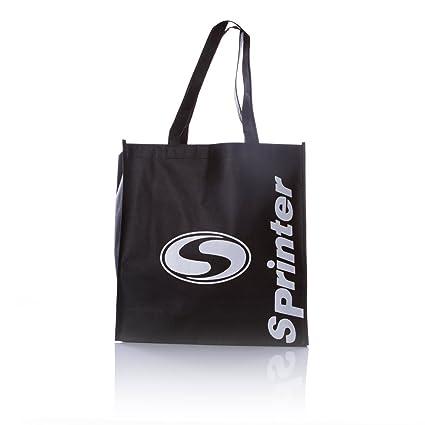 SILVER Bolsa Reutilizable Sprinter en Color Negro (Talla: T.U.)