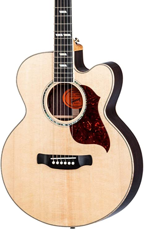 Gibson Ultimate jugadores guitarra acústica con cutaway guitarra eléctrica Natural